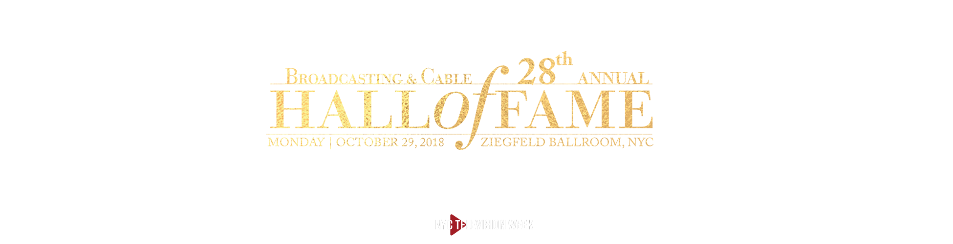 October 29, 2018  |  Ziegfeld Ballroom