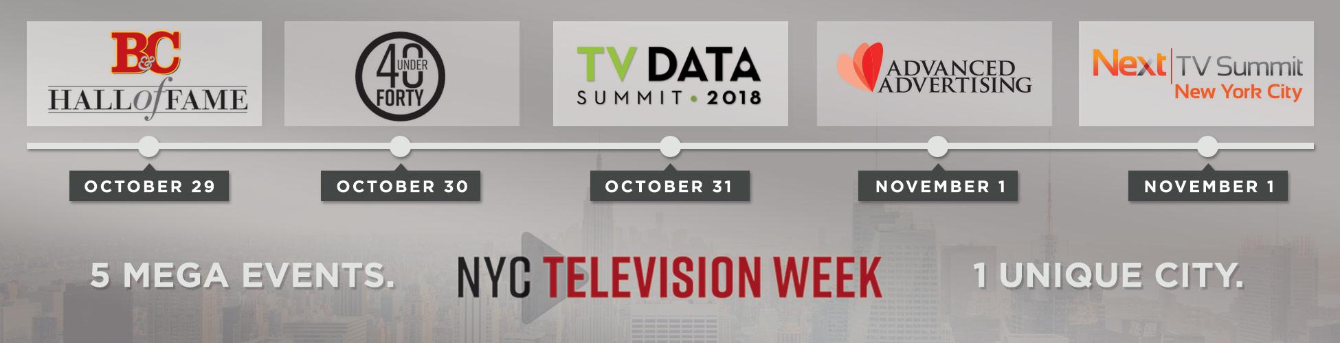 NYC Television Week: 5 Mega Events, 1 Unique City
