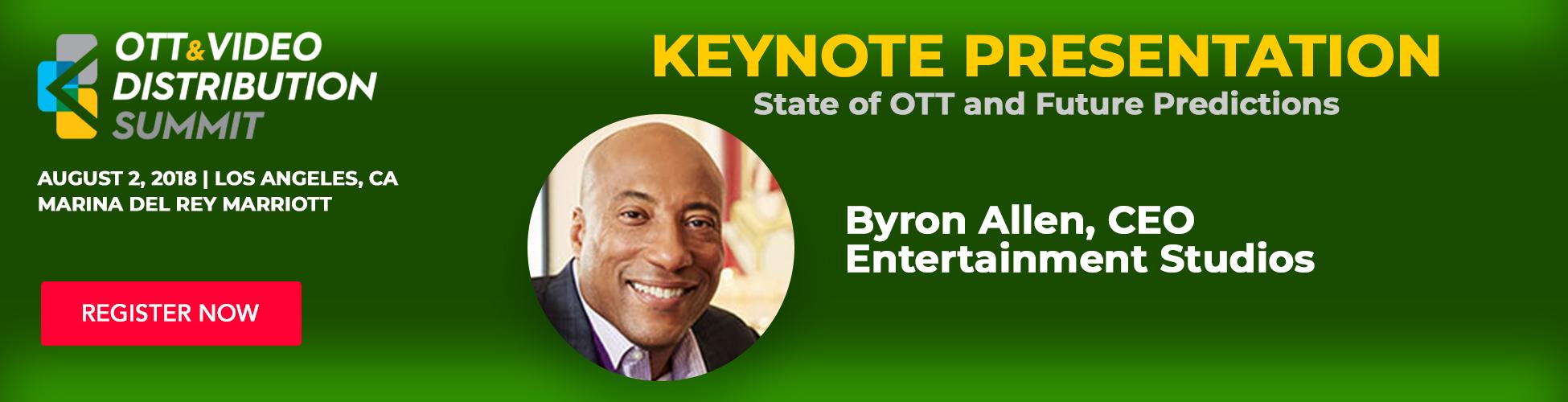 Byron Allen, CEO - Keynote Presentation