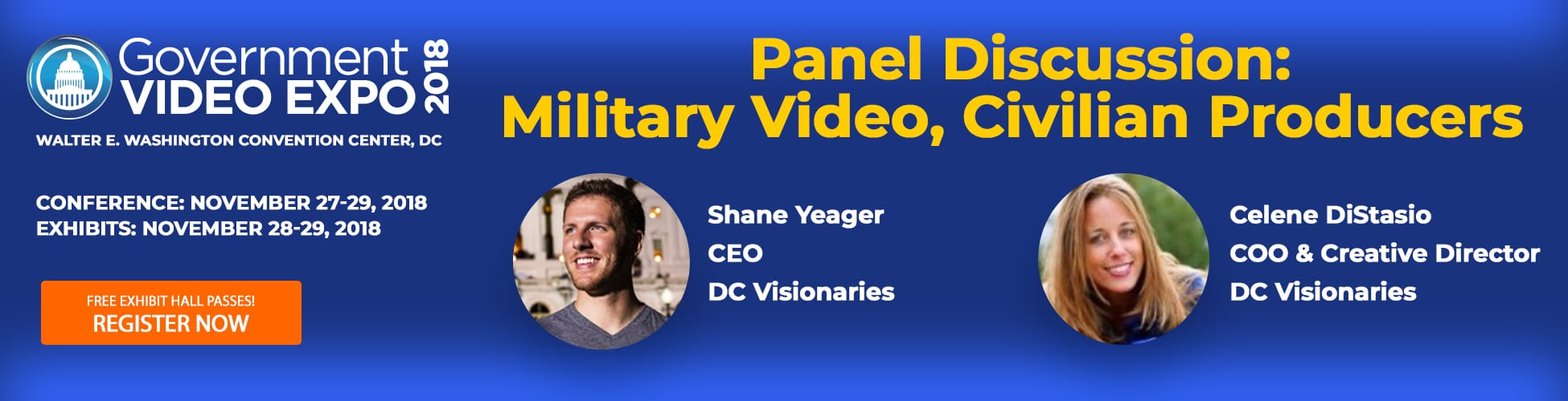 GV Expo 2018, Panel Discussion:  Military Video, Civilian Producers