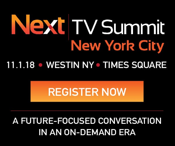 Next TV Summit: Register Now