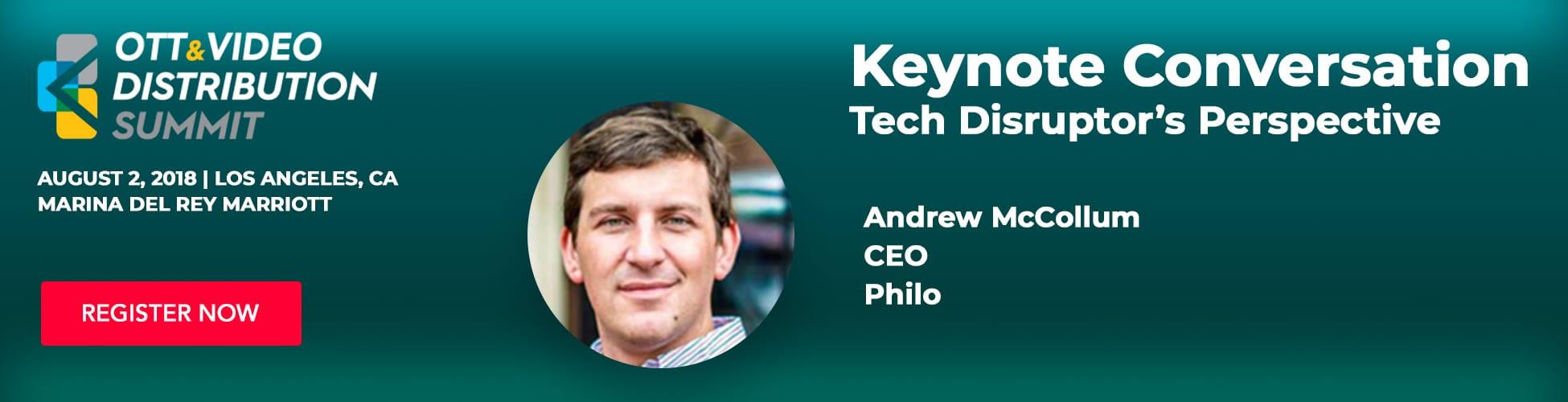 Andrew McCollum, CEO - Keynote Presentation