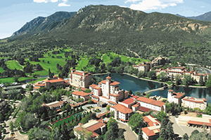 Broadmoor Photo With Mountain