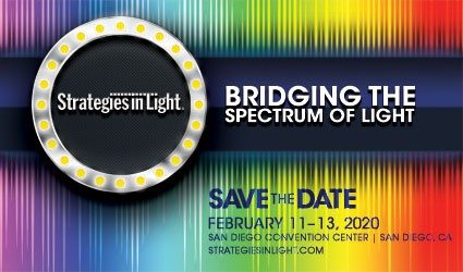 Save the Date - February 11 - 13, 2020 Strategies in Light